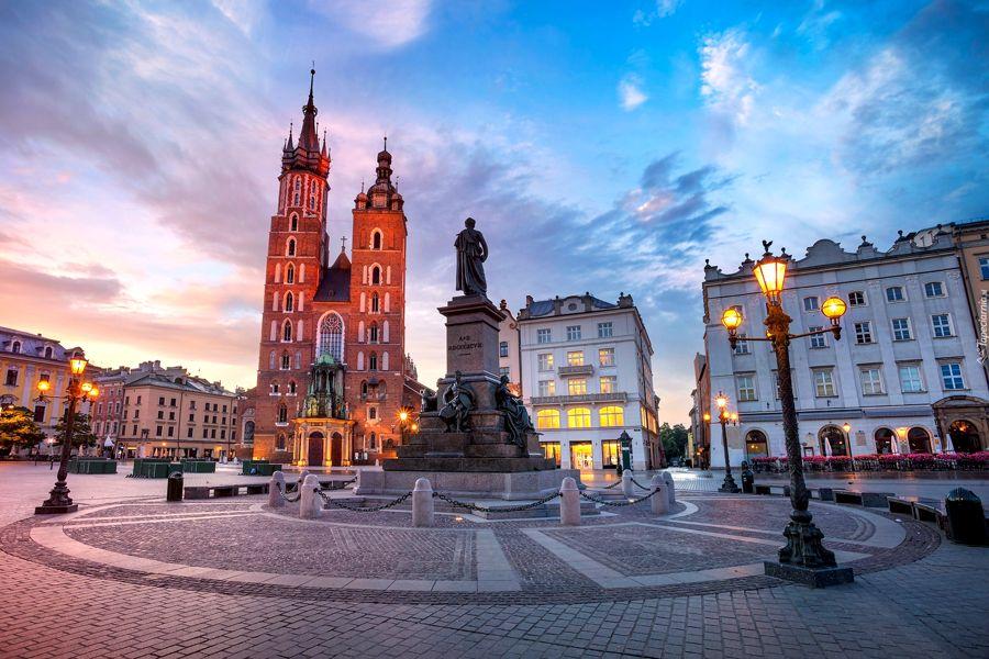 Casco Antiguo de Cracovia