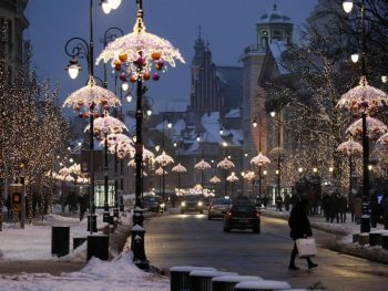 Varsovia en Navidad